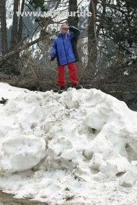 Parc Nacional D'Aigüestortes - Yasmin im Schnee