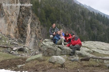 Parc Nacional D'Aigüestortes - Gruppenbild