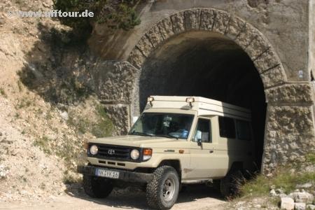 Mont Jafferau - Tunnel