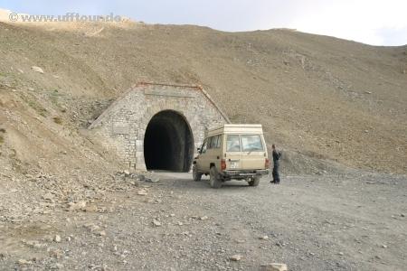 Col de Parpaillon - Tunnel