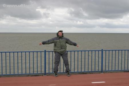 Stefan im Wind
