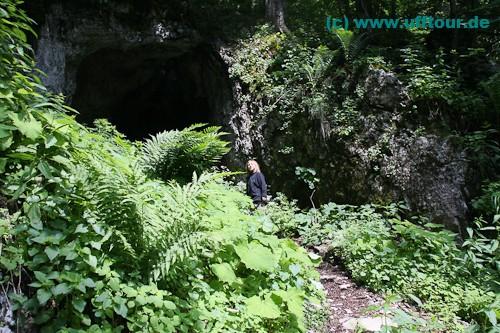 Eingang zur Pestera Honu