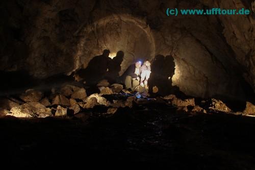 als Höhlenforscher in der Pestera Honu