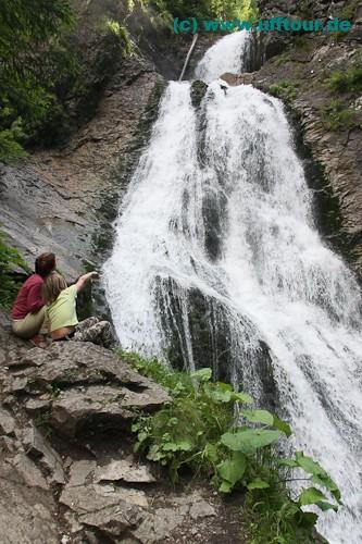 Der Wasserfall von Rachitele