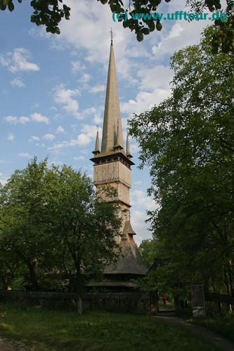 Holzkirche Surdesti - höchstes Eichenbauwerk der Welt
