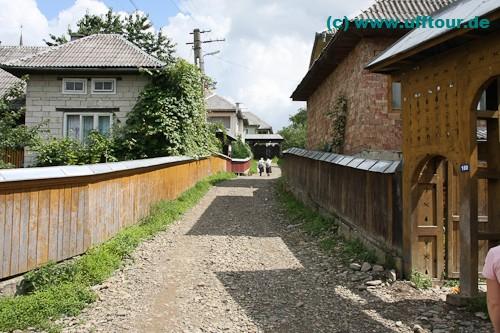 Iza-Tal - Spaziergang durch Glod