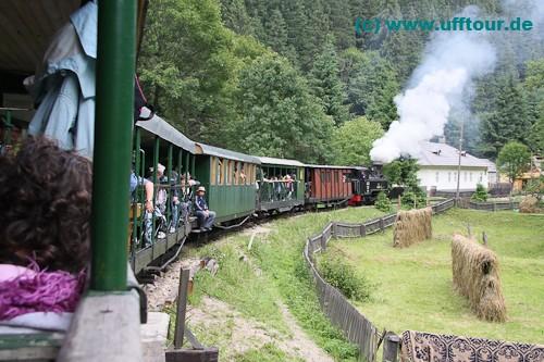 Wassertalbahn - Halbzeit in Faina