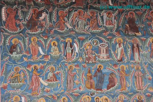 Kloster Moldovita - Aussenbemalung