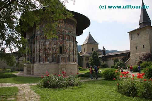Kloster Sucevita - Aussenbemalung