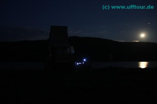 Abendstimmung im Mondlicht