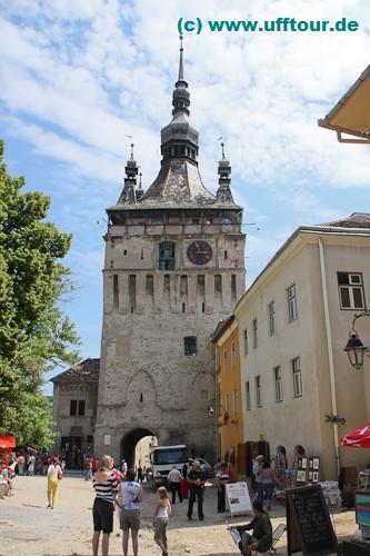 Schässburg - Turm mit Museum