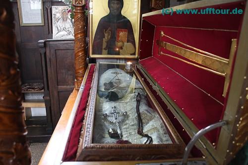 Die sterblichen Überreste des hl. Gregorius