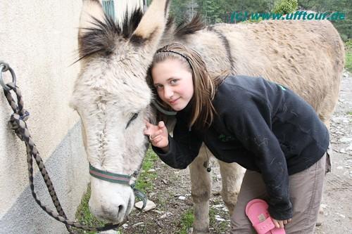 Eselswanderung - Katharina