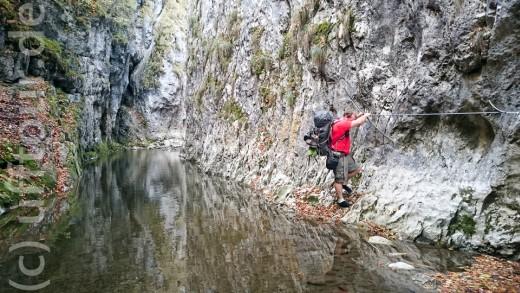 Klettern in der Cheile Râmetului