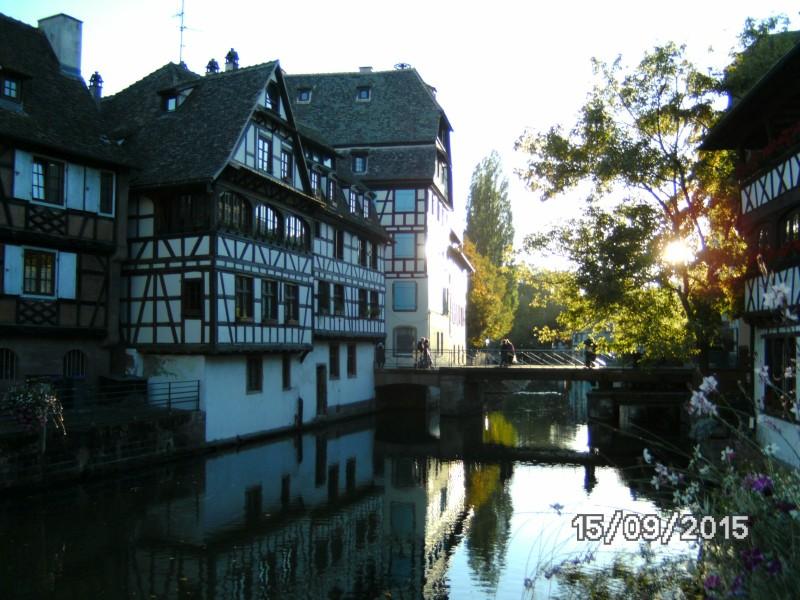 """""""La petite France"""" Stadtteil von Straßburg"""