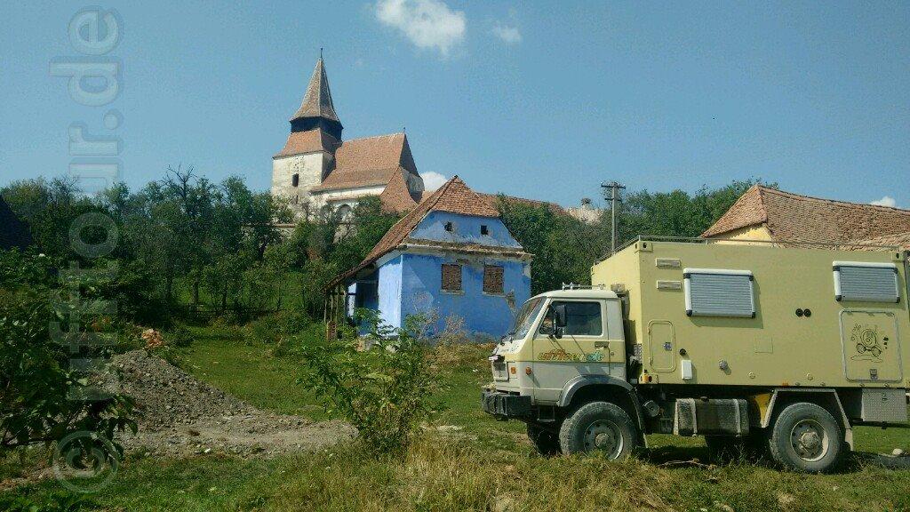 Kirchenburg Radeln