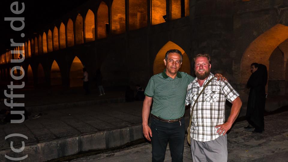 Mamad, der Schwimmmeister aus Kaiserslautern, der in seiner Heimatstadt Isfahan zu meinem Helfer wurde.