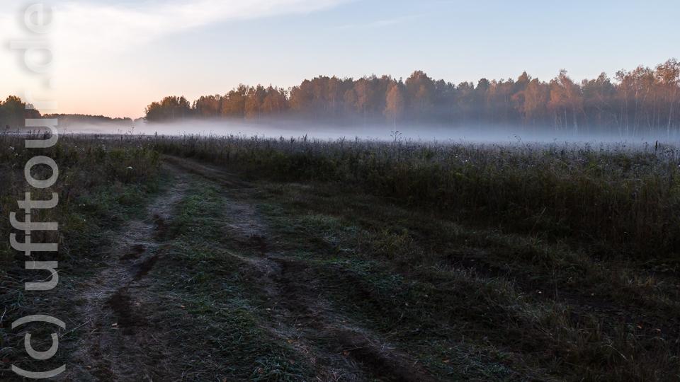 Schon Mitte September erleben wir die ersten Nachtfröste. Der hier lange und kalte Winter kündigt sich an.