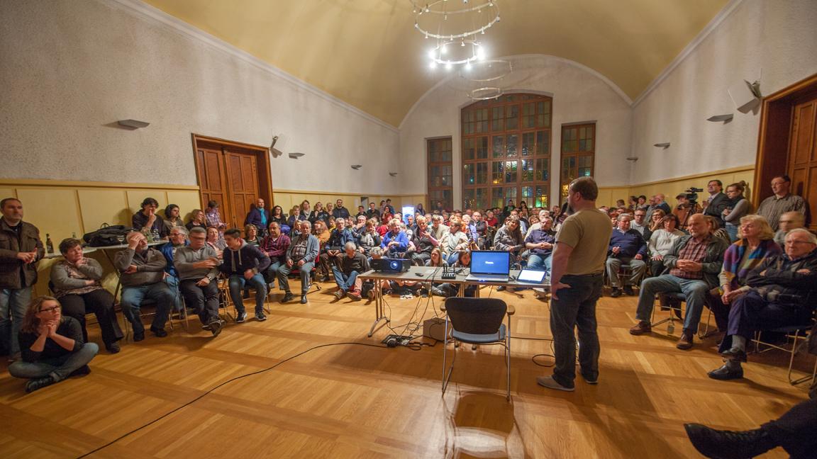 Bildervortrag Erlebnis Seidenstraße Rathaus Friedrichsthal